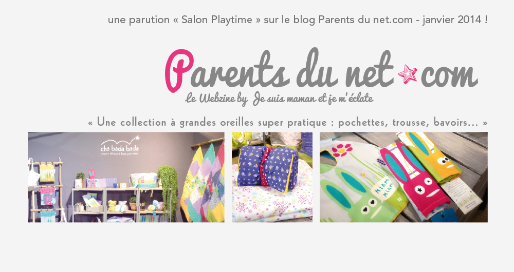 Blog Parents de net sur Playtime !