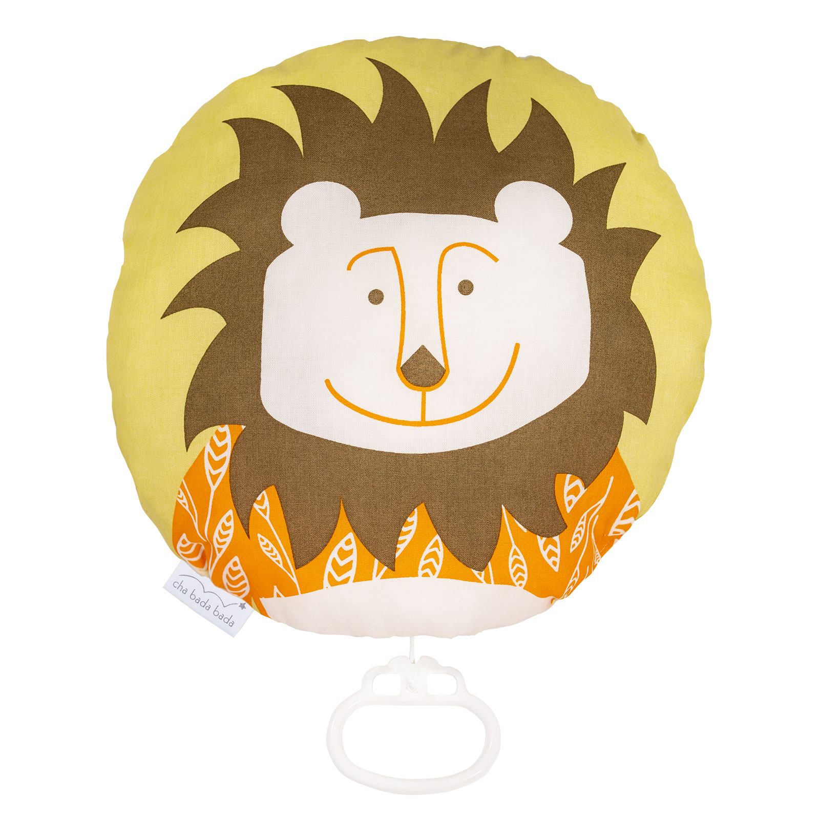 boite à musique coton bio lion chabadabada