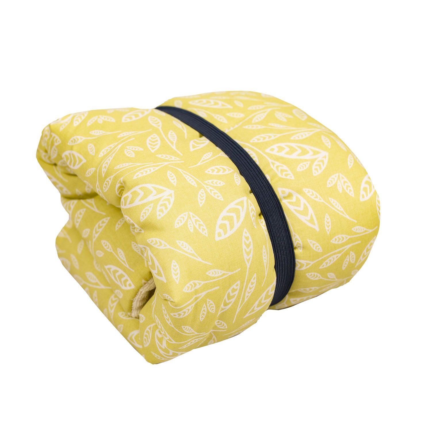 matelas à langer en coton biologique motif savane chabadabada