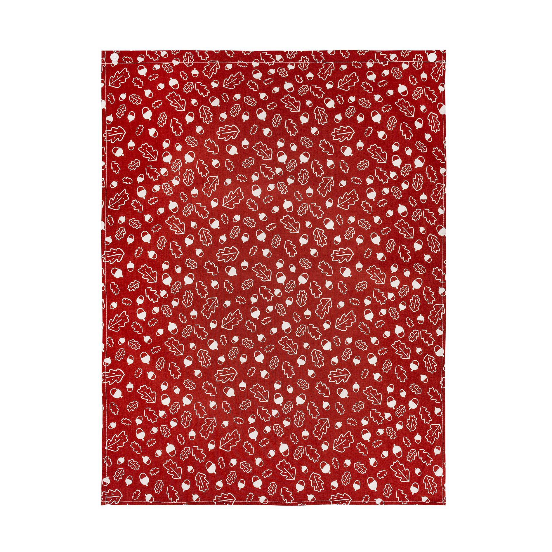 serviette de table en coton biologique chêne chabadabada